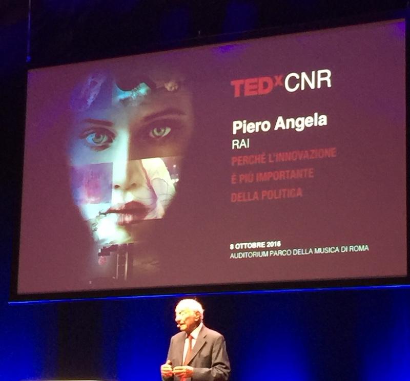 TEDxCNR Piero Angela